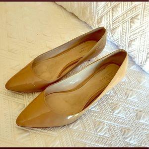👠 Cole Haan Juliana Patent Low Heel Pump 6